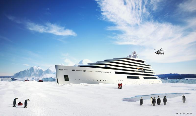 Kiellegging Crystal Endeavor @ MV Werften Stralsund