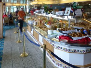 ms Prinsendam- lido buffet