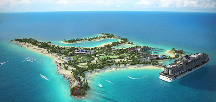 Opening Ocean Cay MSC Marine Reserve @ Privé eiland Ocean Cay MSC Marine Reserve | Bahama's