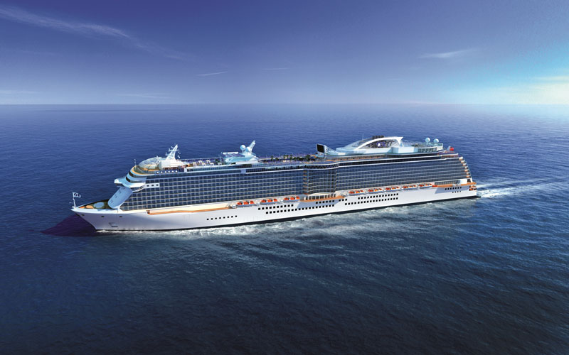 Debuut Majestic Princess De Totstandkoming Cruisereiziger