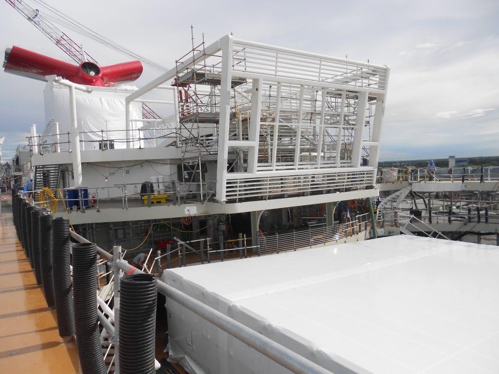 Bouw Cruiseschip Carnival Horizon Ligt Op Schema