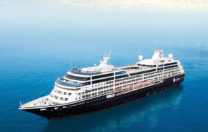 Eerste cruise Azamara Pursuit @ Southampton