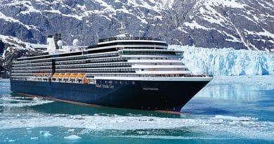 Holland America Line annuleert Westerdam cruises in maart en april